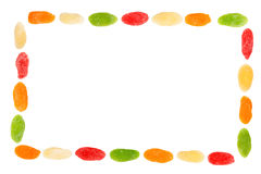 Candied dried fruits Stock Photography