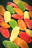 Candied dried fruits Stock Images