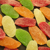 Candied dried fruits Royalty Free Stock Image