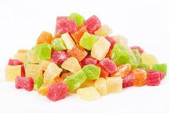 Candied fruit Stock Images