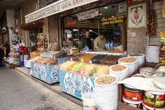 Candied fruit with Iznik tile Stock Photo