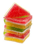 Candied fruit jelly Royalty Free Stock Image