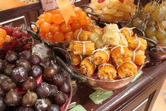 Candied fruit orange Royalty Free Stock Photography
