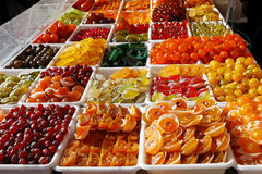 Candied fruits Royalty Free Stock Photos