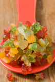 Candied fruits Royalty Free Stock Photo