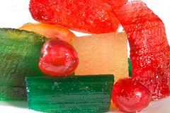 Candied Fruits Stock Photos
