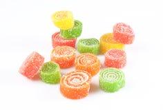 candied fruktgelé Royaltyfria Bilder