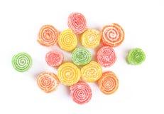 candied fruktgelé Arkivfoto