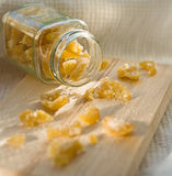 Candied ginger Stock Photography