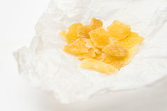 Candied ginger Royalty Free Stock Photography