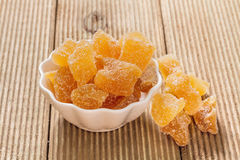 Candied ginger Royalty Free Stock Photo