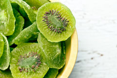 Candied kiwi fruit Royalty Free Stock Photo