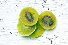 Candied kiwi fruit Stock Images