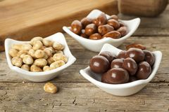 Candied nuts Royalty Free Stock Photo