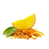 Candied orange peel Royalty Free Stock Photos