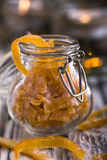 Candied orange peel Stock Images
