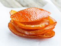 Candied orange Stock Photo