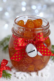 Candied orange peels confiture Stock Photography