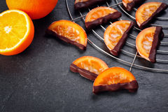 Candied orange slices Royalty Free Stock Images