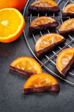 Candied orange slices Stock Images
