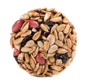 Candied peanuts sunflower seeds. Stock Photo