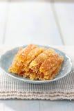 Candied pomarańczowa łupa Fotografia Royalty Free