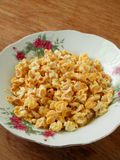 Candied popped corn popcorn Stock Images