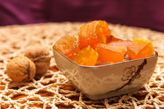 Candied pumpkin Royalty Free Stock Image