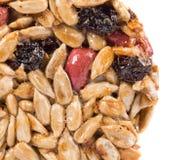 Candied roasted peanut sunflower seeds. Stock Image