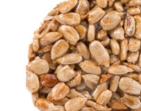 Candied roasted peanuts sunflower seeds. Royalty Free Stock Photography