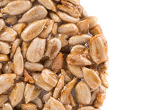 Candied roasted peanuts sunflower seeds. Stock Photography