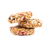 Candied roasted peanuts sunflower seeds. Stock Images