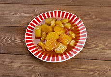 Candied Sweet Potatoes Royalty Free Stock Images