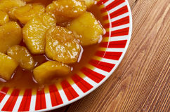 Candied Sweet Potatoes Stock Images
