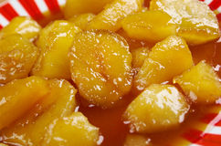 Candied Sweet Potatoes Royalty Free Stock Image