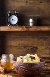 candied torkade frukter Fotografering för Bildbyråer