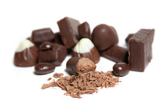 Candies. Candy bar should be a lot. A large pile of sweets Royalty Free Stock Photos