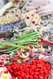Candies. Assorted colorful candies at the candy shop Stock Image