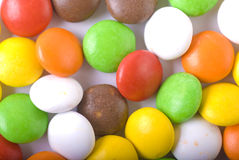 Candies. A photo of colorful chocolate candies royalty free stock photography