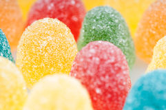 Candies. Colorfull candies on white background royalty free stock images