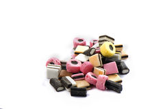 Candies. Pile of candies  in many colors 2 Stock Images