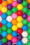 Candies. Colorful chew ball candies for background Royalty Free Stock Photo