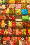 Candies assortment. From the Barcelona Market stock photos