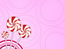 Candies background Stock Photos