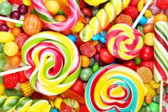 Candies background Stock Photography