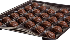 Candies in the box Stock Photography