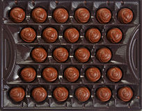 Candies in the box Royalty Free Stock Photo