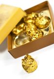Candies in box Stock Photography