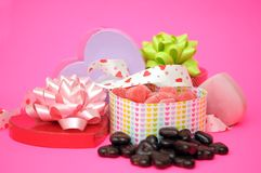 Candies boxes Royalty Free Stock Images