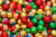 Candies in bright wrapping Royalty Free Stock Photos